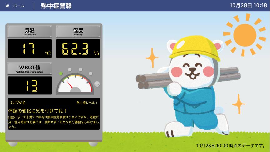 工事現場の熱中症対策